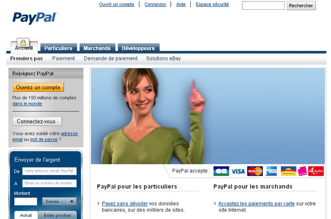 Site Paypal