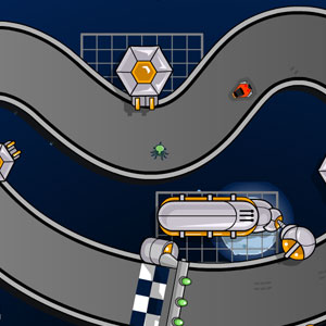 Jeu Space Race