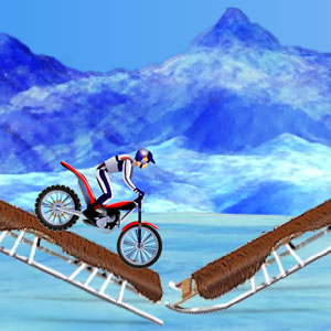 Jeu Bike Mania On Ice