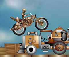 Jeu Steampunk Rally