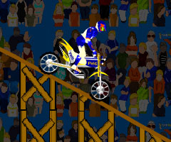Jeu Stunt Bike Draw