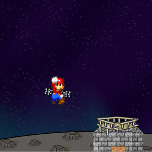 Jeu Mario Lost In Space