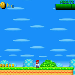 Jeu New Super Mario Bros Flash