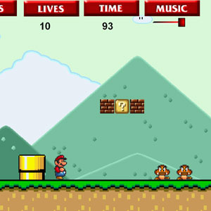 Jeu Super Flash Mario Bros