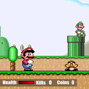 Jeu Super Mario Flash 2