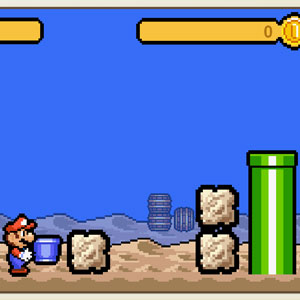 Jeu Super Mario's Time Attack