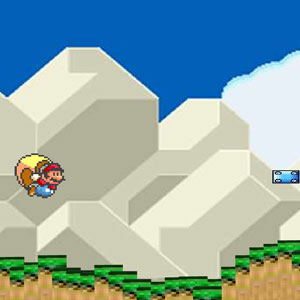 Jeu Super Mario World Cape Glide