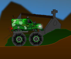 Jeu Military Monstertruck