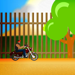 Jeu Stunt Biker Behind The Scene