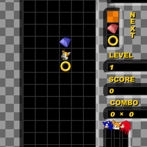 Jeu Sonic Heroes Puzzle