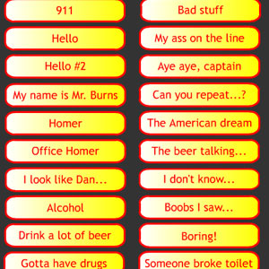 Jeu Homer Simpson Soundboard