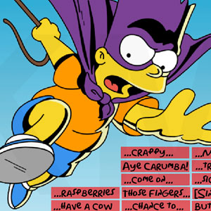 Jeu Ultimate Bart Simpson Soundboard