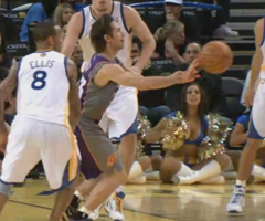 photo 6000e passe décisive de Steve Nash en NBA
