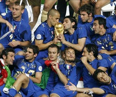 photo L'Italie remporte la coupe du Monde de football 2006