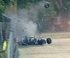 photo Accident d'Ayrton Senna