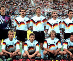 photo Allemagne gagne la Coupe du Monde de Football 1990 en Italie