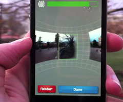 photo L'appli iPhone pour faire des panoramas à 360°
