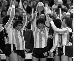 photo Argentine gagne la Coupe du Monde de Football 1978 en Argentine