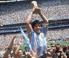 photo Argentine gagne la Coupe du Monde de Football 1986 au Mexique