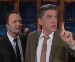 photo Arthur dans The Late Show avec Craig Ferguson