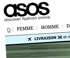 photo ASOS arrive en France (ASOS.fr)