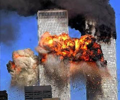 photo Attentat du 11 septembre, destruction du World Trade Center