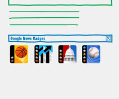 photo Badges Google News