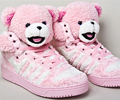 photo Les baskets nounours Adidas Teddy Bears