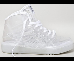 photo Baskets transparentes Adidas