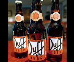 photo La bière Duff de Homer Simpson arrive en France
