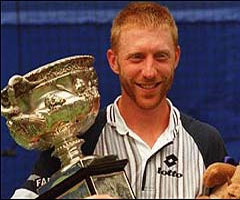photo Boris Becker gagne l'Open d'Australie 1996