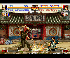 photo Borne d'arcade The King of Fighters
