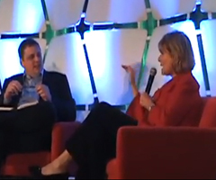 photo Carol Bartz CEO de Yahoo! insulte Michael Arrington de TechChrunch