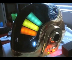 photo Casque Daft Punk en vrai