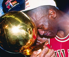 photo Chicago Bulls champion NBA saison 1990 1991