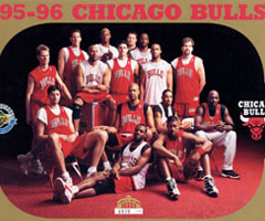 photo Chicago Bulls champion NBA saison 1995 1996