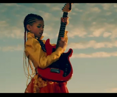 photo Clip Willow Smith 21st Century Girl (fille de Will Smith)
