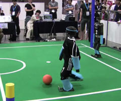photo Coupe du Monde de Football des Robots