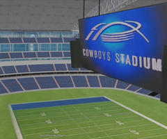 photo Le Cowboys Stadium en 3D dans Google Earth