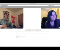 photo Diana Chanson d'amour ChatRoulette