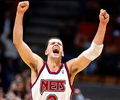 photo Drazen Petrovic mort dans un accident de voiture
