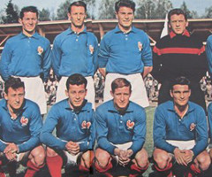 photo Equipe de France à la Coupe du Monde de Football 1958 en Suède
