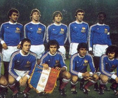 photo Equipe de France à la Coupe du Monde de Football 1978 en Argentine