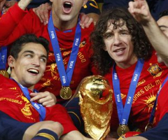 photo Espagne gagne la coupe du Monde de football 2010
