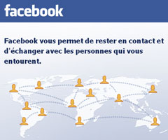 photo Lancement de Facebook.com en français
