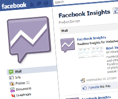 photo Facebook Insights statistiques en temps réel de Facebook