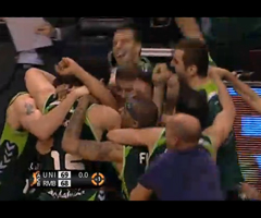 photo Fin de match incroyable entre Unicaja Malaga et Real Madrid