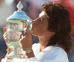 photo Gabriela Sabatini gagne l'US Open 1990