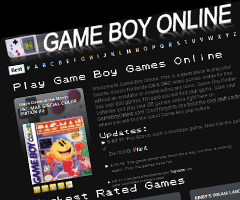 photo GameboyOnline.com Jouer à la Game Boy en ligne