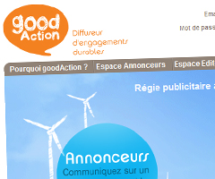 photo Goodaction.com Régie publicitaire solidaire